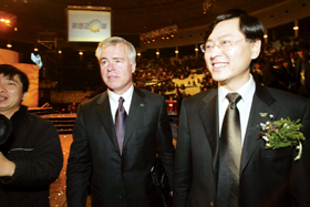 联想20周年庆典新CEO首次公开露面