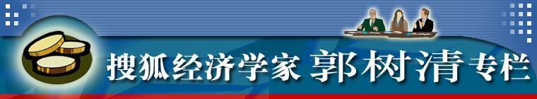 搜狐经济学家郭树清专栏