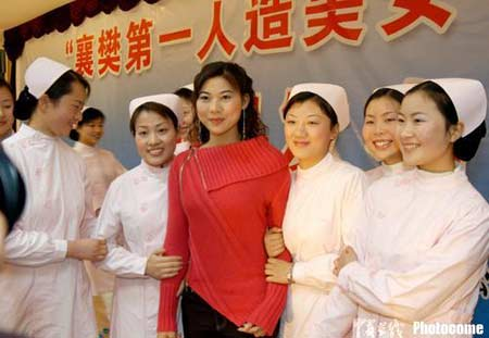 全程:直击襄樊湖北第一人造美女出炉组图搭配美女冬装图片