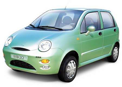 GM charges Chery for alleged mini car piracy