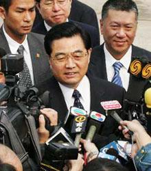 胡锦涛主席首次来到澳门