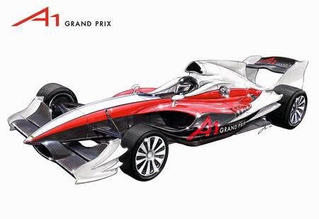 图文:A1引发众国家参赛兴趣-A1赛车设计图