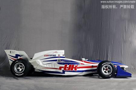 图文:A1引发众国家参赛兴趣-设计成型的A1赛车