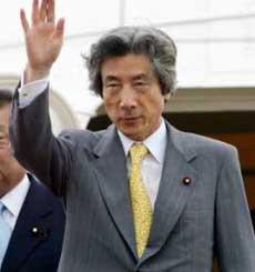 日本首相小泉纯一郎