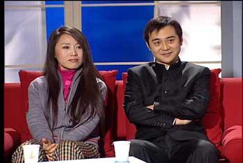 黄梅戏演员吴琼近况; 新闻会客厅:痛并快乐着的中国忘年恋现状;  图片