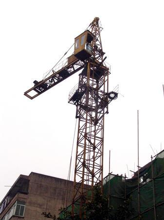 塔吊电路图cad