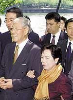 台湾保钓人士欲赴日全程监视李登辉被拒发签证
