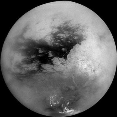 科学家对卡西尼太空船发回的照片进行研究,认为土卫六上或许根本不