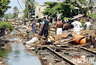 2004年大pp岛海啸照片
