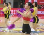 图文:全明星赛美少女张扬活力性感劲舞鼓气氛