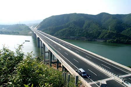 漳龙高速 今日正式通车(组图)