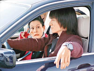 刘德华撞上大货车 吓傻了刘若英(图)