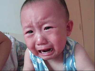 可爱小孩哭头像