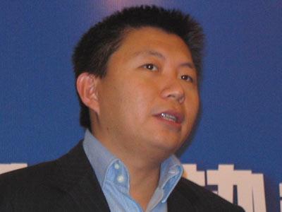 图 新浪CEO兼总裁汪延致辞