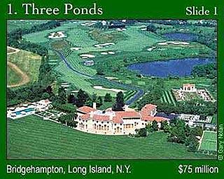 """第1名:纽约长岛的""""三湖""""别墅1"""