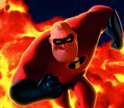 图:电影《超人总动员》精彩剧照