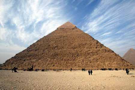 埃及海夫拉大金字塔重新开放