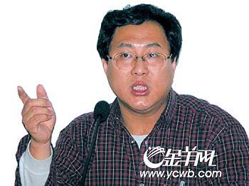 贺雄飞:批判中国当红作家(组图)