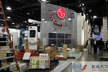 CES现场报道:LG的展台