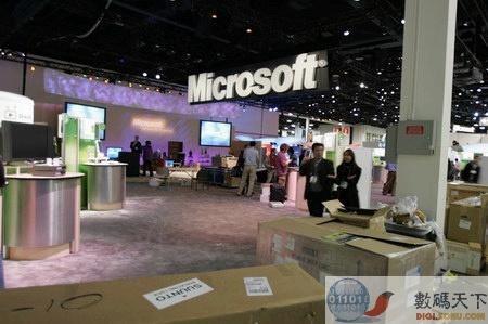 CES现场报道:微软的展台2