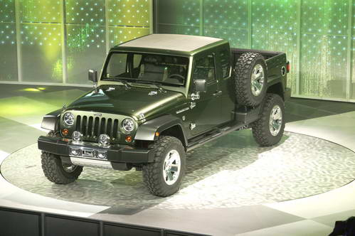 2005北美车展:吉普发布概念车Gladiator
