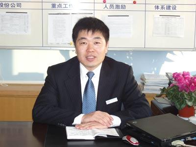 青岛澳柯玛商务有限公司总经理周明江