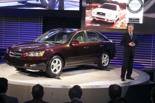 2005北美车展:现代发布新一代Sonata(图)