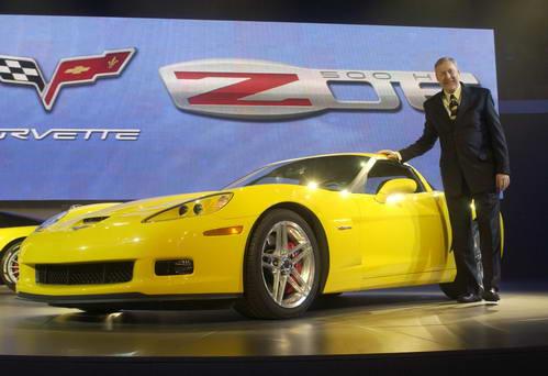 2005北美车展:雪佛兰发布Z06克尔维特