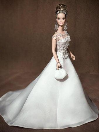 布什女儿惊艳出镜 造型师曾设计芭比娃娃(组图)