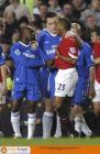 图文:切尔西VS曼联 蓝狮、红魔握手言和