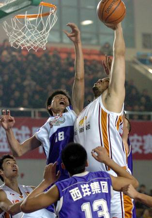 [体育](5)篮球?D?DCBA:上海击败山东