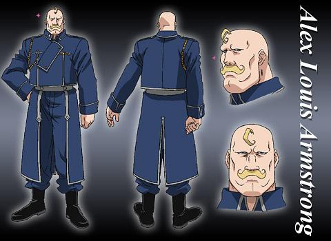 主要登场人物 阿莱克斯 鲁伊 阿姆斯特朗