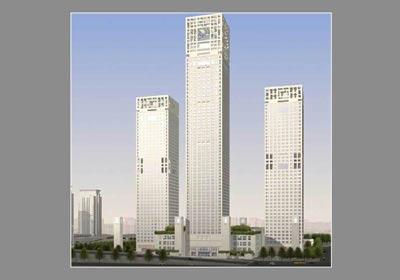奥的斯为北京最高建筑银泰中心提供电、扶梯设备