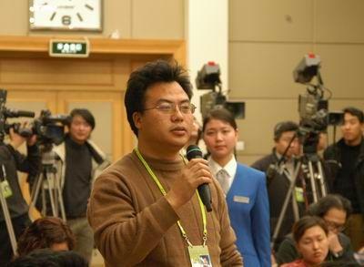 中央人民广播电台记者提问(图)