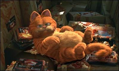 加菲猫卡通头像