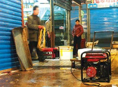 华南海鲜市场发电机废气毒倒数十人(组图)