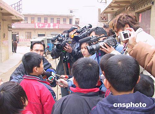 图:香港媒体关注福建平潭劳工被绑架事件