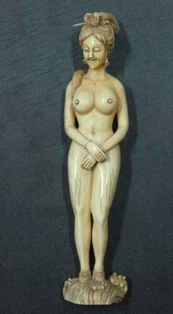 乾隆象牙雕塑落款图片