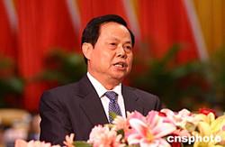 图文:广西十届人大三次会议开幕