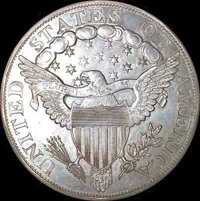 1804年美国一元银币-钱币收藏谨防 伪币 陷阱图片