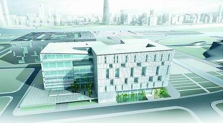 新广州图书馆设计方案公示:你中意哪种模样?