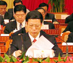 省委书记张高丽在会场