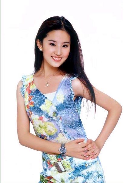 组图:刘亦菲精美写真 宛如仙子再现天生丽质