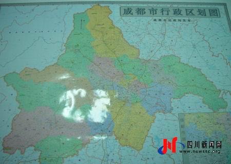 成都市行政区划图_成都最新版行政区划图 府南河更名锦江-搜狐新闻中心