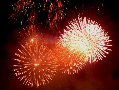 第九届大连烟花爆竹迎春会今天晚上在大连劳动公园和星海湾广场两个