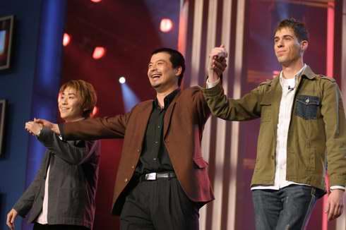 图文:2005年复赛―加拿大齐佩文和日本斋藤