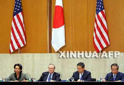 美日确定亚太十二项共同战略目标 首提台海问题