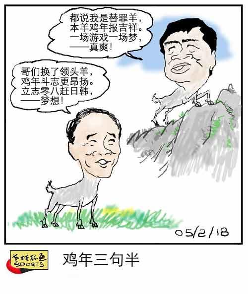 老桂狐画SPORTS:鸡年三句半