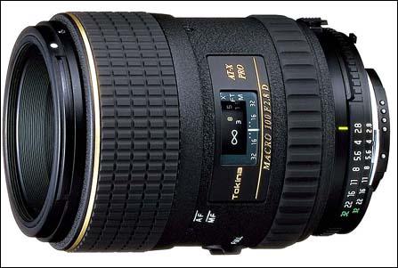 图丽发布35mm标准镜AT-X M100 PRO D 100mmF2.8