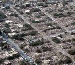 03年巴姆市震后俯瞰画面